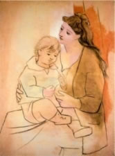 Picasso - Mother and Child